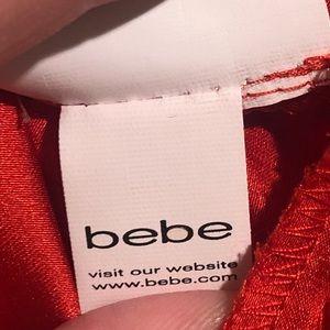 bebe Dresses - Bebe red dress XS